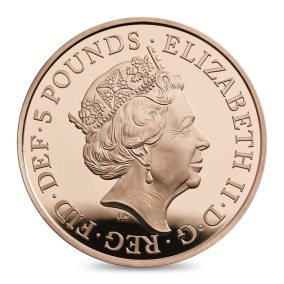 Britské pamětní mince ke 100letému výročí Windsorů
