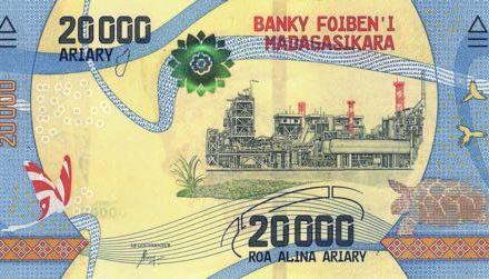 Nové bankovky Madagaskaru vstoupily do oběhu