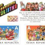 50 LET ČTYŘLÍSTKU se známkovým sešitkem České pošty