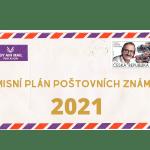 Česká republika: Nové poštovní známky 2021