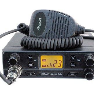 MegaJet MJ-350 - Рация Си-Би (CB) 27 МГц автомобильная