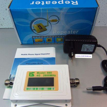 Репитер RP-980-2 (4G-2600 LTE)  - Усилитель сигнала мобильной (беспроводной) связии интернета