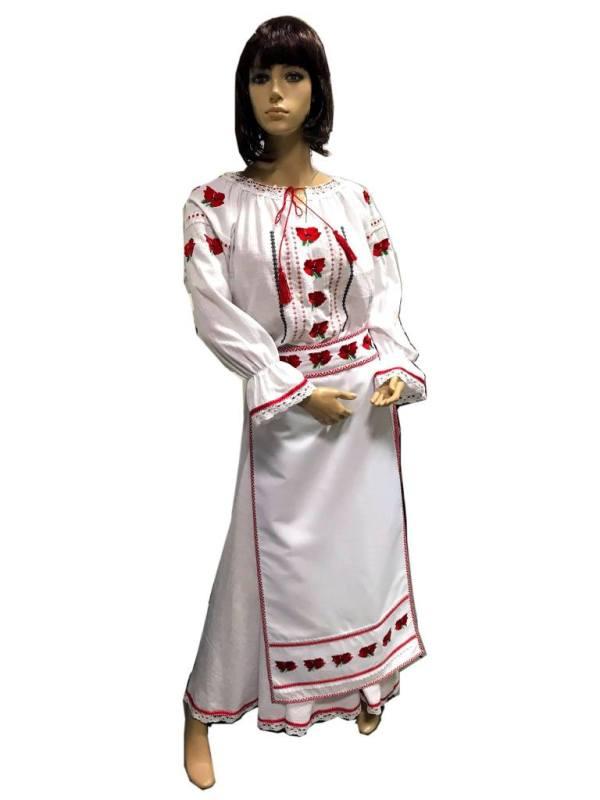 broderie traditionala pe rochii