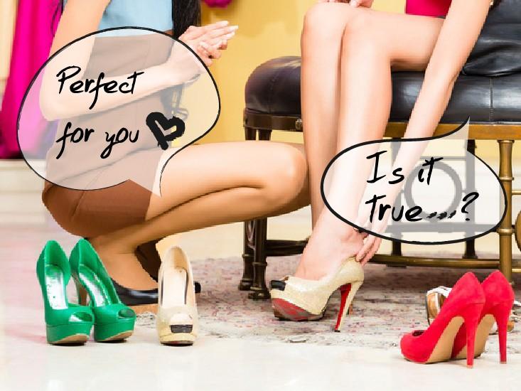 お店で勧められた靴なのに合わない、その本当の理由。
