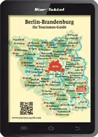 Berlin/Brandenburg Karte Tourismus