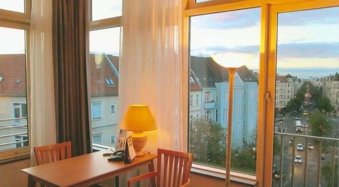 Blick aus einem der Appartements in Richtung Kurfürstendamm