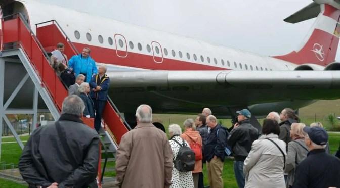 CTOUR-Medientreff: Luftfahrtgeschichte(n) am BUGA-Standort Stölln 1