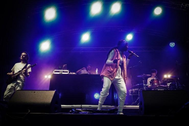 Coely live auf dem lunatic Festival