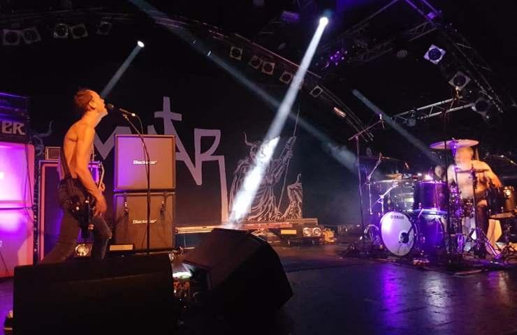 Mantar in der Markthalle Hamburg (Foto: Christin Leibing)