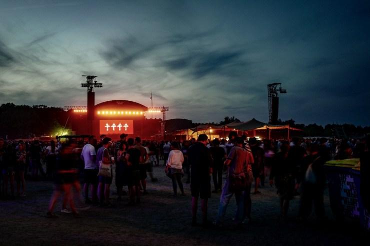 Eine coole Erfahrung, nicht nur für eingefleischte Fans - Kraftwertk mit ihrer 3D-Show beim Best Kept Secret 2019, © Danilo Rößger, www.allerorts.de