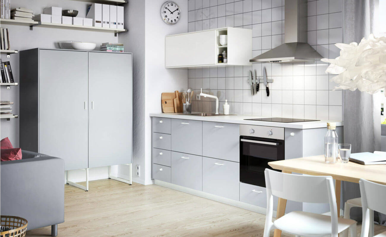 Kuche Grau Hochglanz Ikea – Caseconrad.com