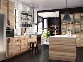 Landhausküchen aus Holz Bilder & Ideen für rustikale ...