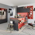 Ideen Fur Die Kuchen Farbgestaltung 11 Bilder Von Farbigen Alno Kuchen In Rot Blau Grun Gelb Und Grau Kuchenfinder