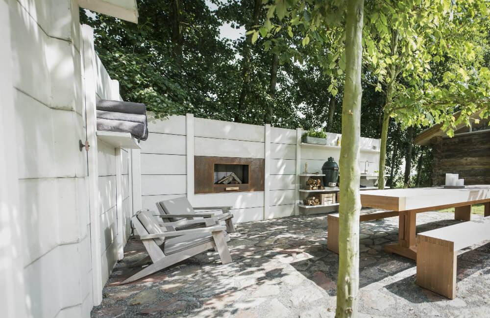 fertige outdoor k che k che f r den garten bilder und. Black Bedroom Furniture Sets. Home Design Ideas