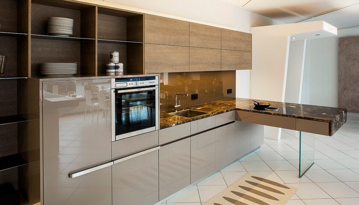 L Küche Mit Halbinsel | Küche Mit Halbinsel: Offene Küche ...
