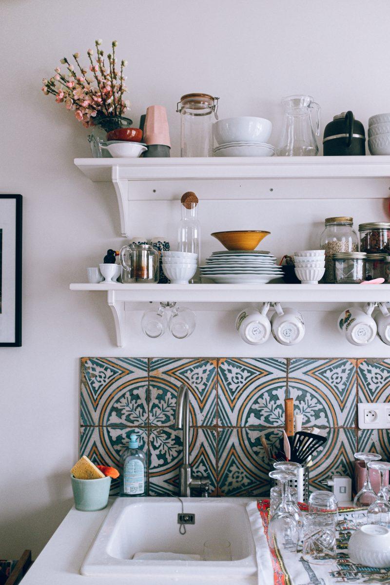 Arbeitsplatten Küche Bekleben   Glas Folien Sichtschutz ...