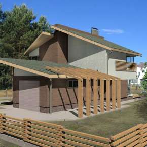 Традиционный жилой дом