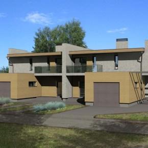 Двухквартирный жилой дом «2х2?