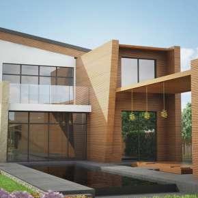 Проект дома на Юге для молодой пары