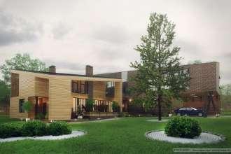Modern Apartment House 1