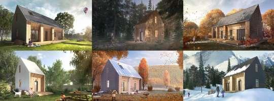 Модульные дома из соломенных панелей «Модуль»