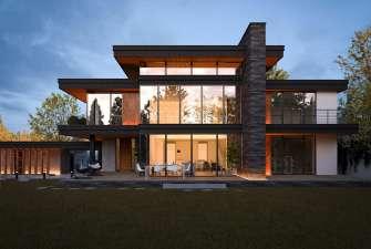 Проект модернистского дома