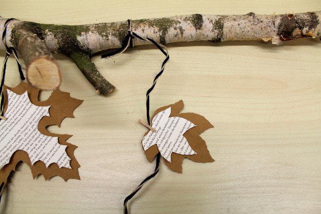Makerist-SnapPap Wandbehang-Herbstblätter
