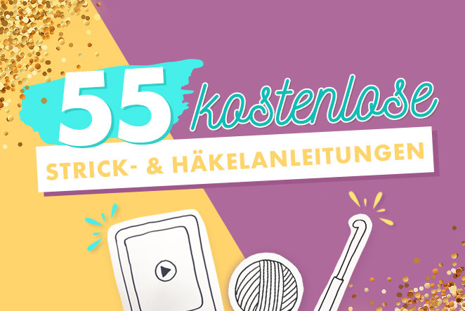 Makerist-55 kostenlose Strick- und Häkelanleitungen