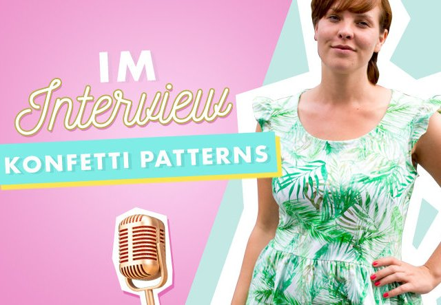 Im Interview: Makerist Designerin Konfetti Patterns