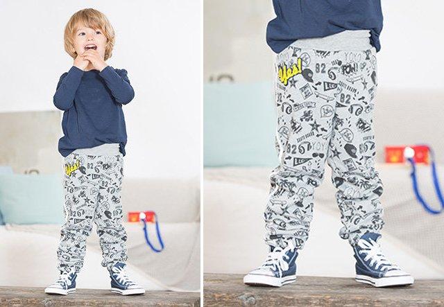 Coole Jogginghose für Kinder nähen!