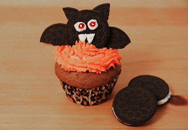 Schaurig-leckeres Rezept: Fledermaus-Muffins für Halloween!