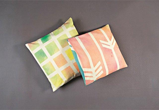 Easy-peasy Textildesign für deinen Kissenbezug