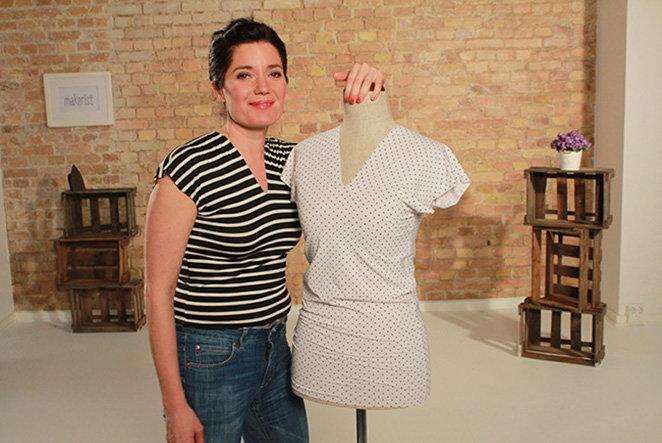 Auch für Anfänger: T-Shirt nähen mit Silke von Schnittchen