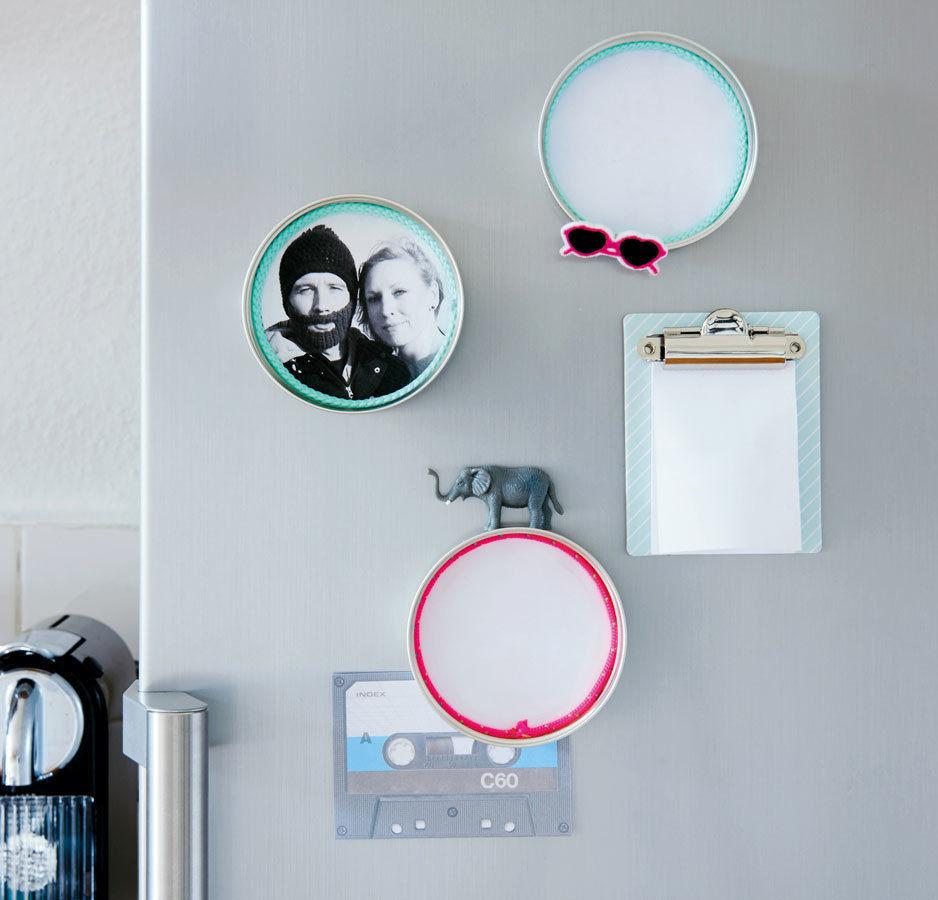 Makerist-Basteln-mit-Kindern-50-DIY-Projekte-Magnet-Bilderrahmen