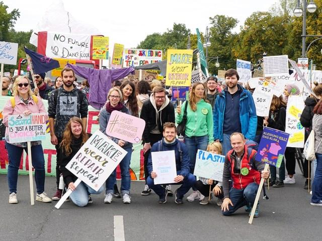 Makerist beim Globalen Klimastreik // Tipps zum Klimaschutz im Alltag