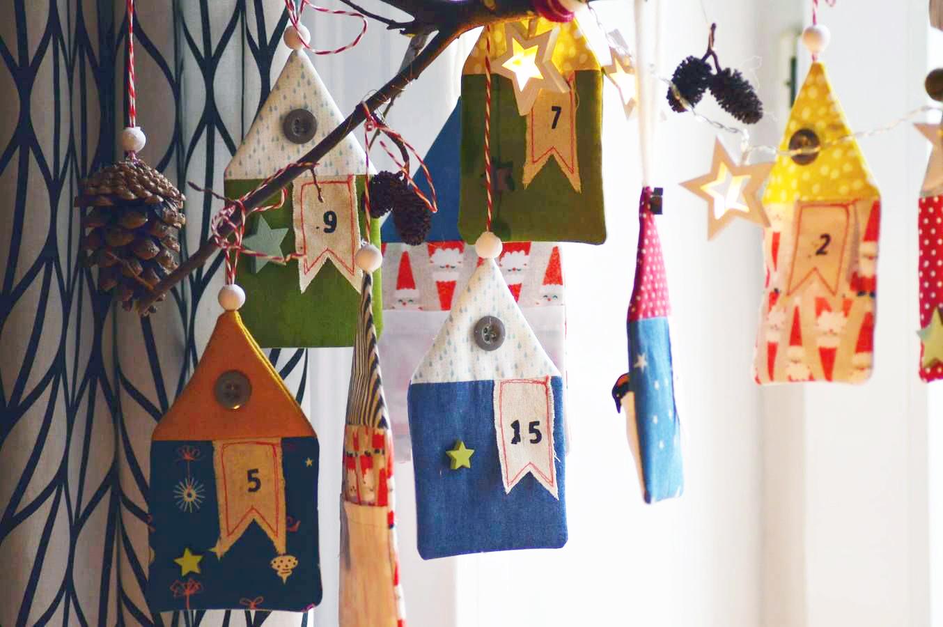 Makerist-Adventskalender-selbermachen-19-DIY-Projekte-Weihnachtsdorf