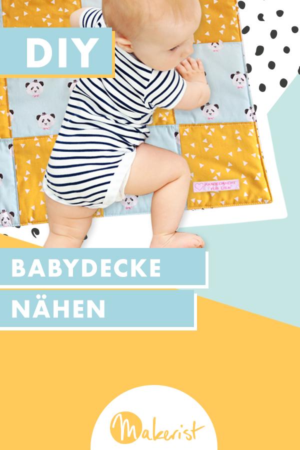 Makerist-DIY-Geschenk zur Geburt-Babydecke nähen (44)