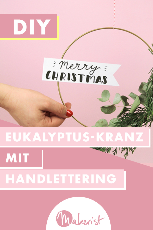 Makerist-Weihnachtsdeko-Eukalyptus-Kranz-Pin-2