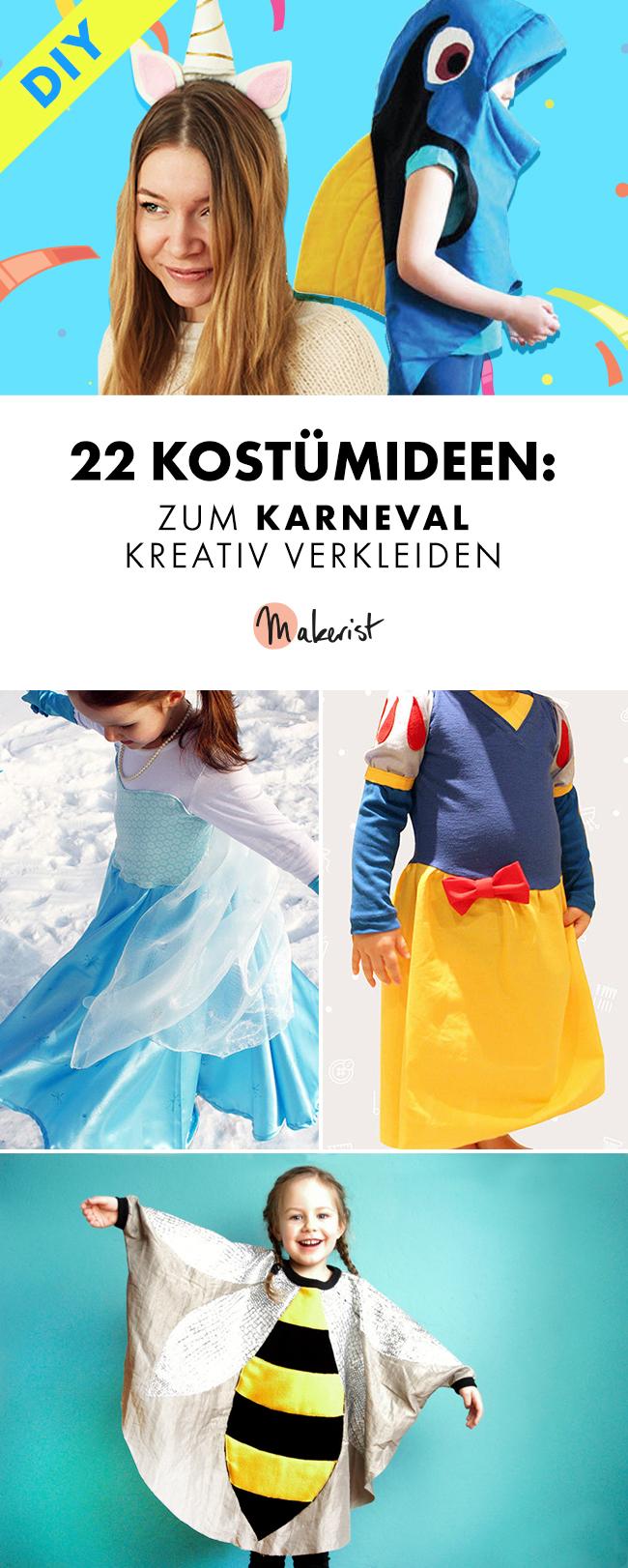 Makerist-22-Kostümideen-Zum-Karneval-kreativ-verkleiden-Pinterest-3