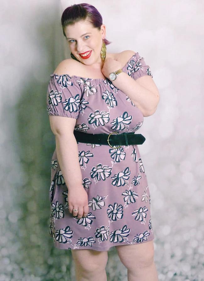 Makerist-Kleid-selber-nähen-Schnittmuster-für-den-Frühling-Bluse-Kleid-Floris-1