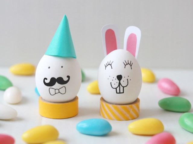 Ostereier kreativ gestalten – Vier einfache Ideen
