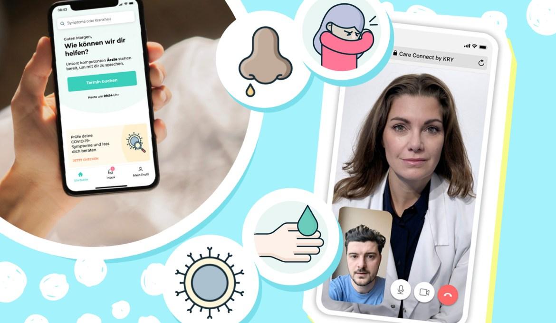 Telemedizin mit KRY – Über die App und das Erkennen von COVID-19 Symptomen