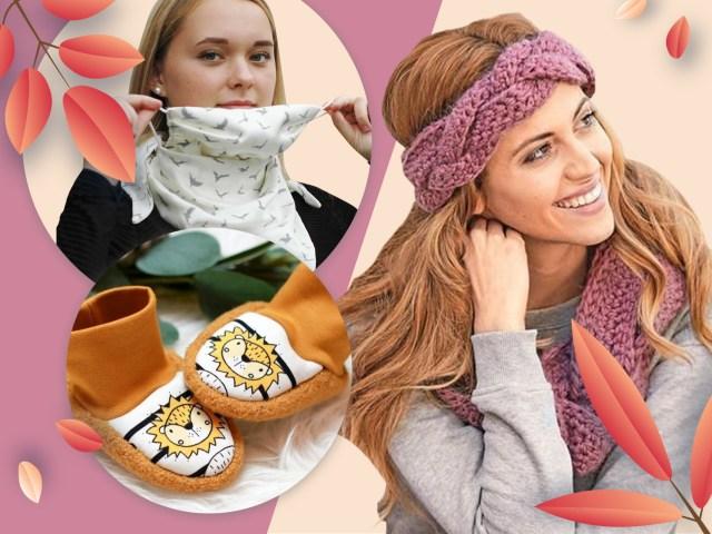 Schöne Herbst-Accessoires selber machen – 17 Anleitungen zum Nähen, Stricken und Häkeln