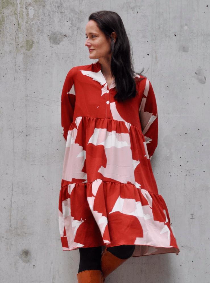 Makerist-Tolle-Naehprojekte-fuer-Anfaengerinnen-17-einfache-Anleitungen-Boho-Kleid