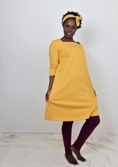 Makerist-Tolle-Naehprojekte-fuer-Anfaengerinnen-17-einfache-Anleitungen-Tunika-Kleid