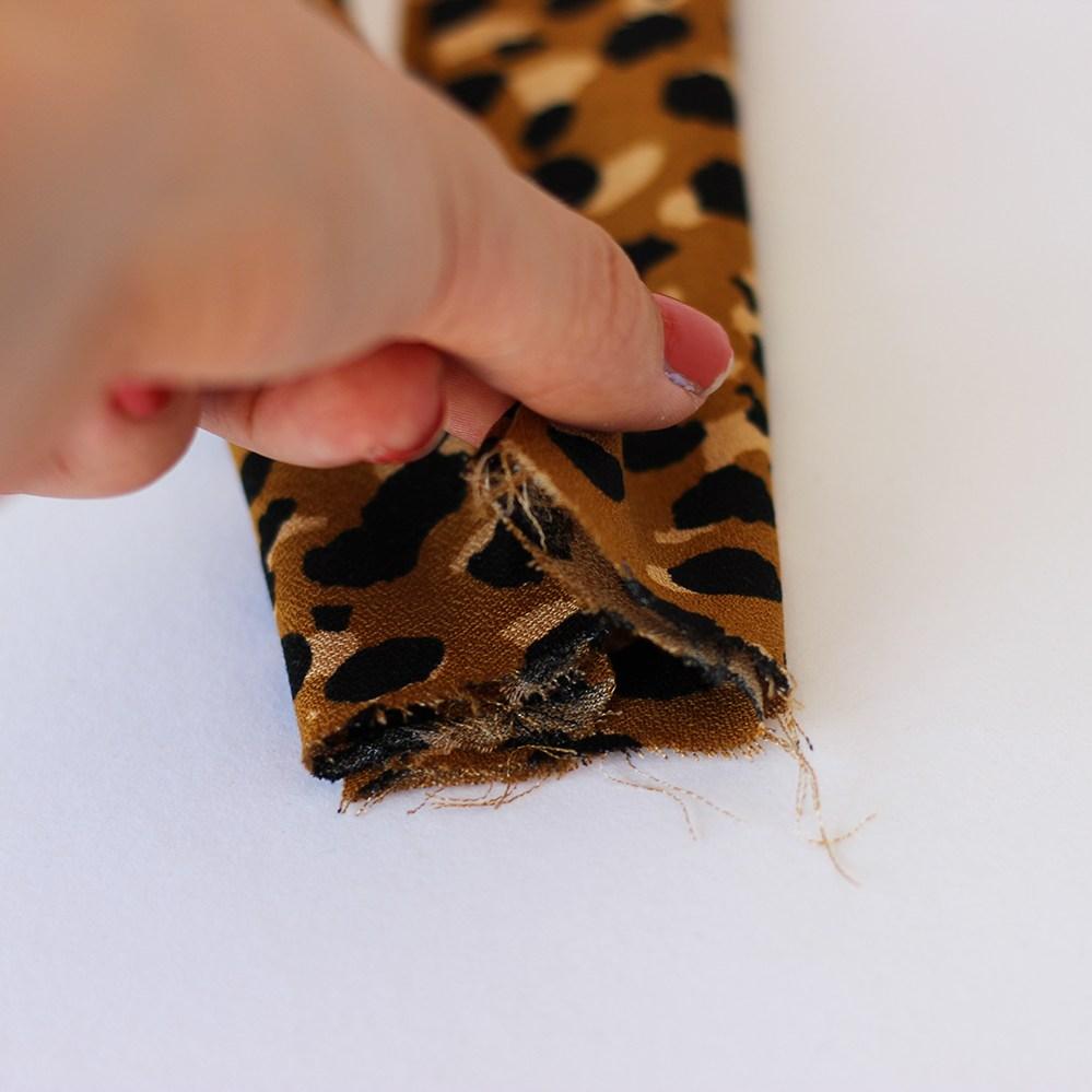Haarbänder-nähen-Knoten