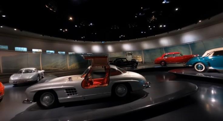 Mercedes-Benz-muzeum-dron-video