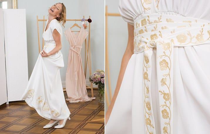 Freebook Tipp Hochzeitskleid Nähen Snaply Magazin