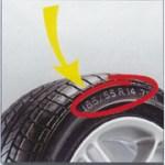 Rozměry pneumatiky