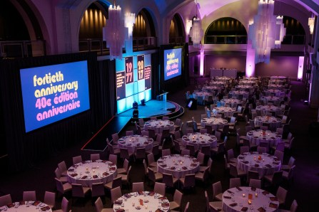 The 40th anniversary National Magazine Awards gala, 26 May 2017, Arcadian Court, Toronto (Photo by Steven Goetz for the NMAF)